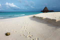 Paradies von Maldives Lizenzfreies Stockfoto