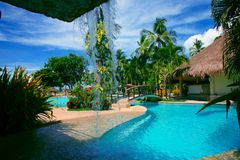Paradiesgarten Lizenzfreies Stockfoto