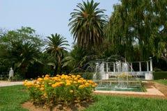 Paradiesgarten Stockbild