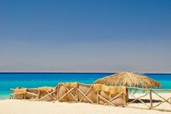 Paradiesinsel Ägypten Stockfoto