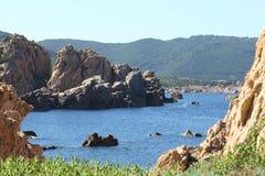 Paradiesküste, Sardinien Stockbilder
