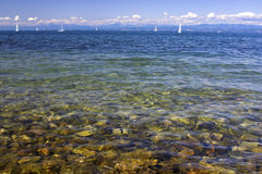 Paradiesseeküste Stockfotos