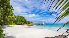 Paradiesstrand am anse Lazio auf den Seychellen 60 Lizenzfreie Stockfotografie