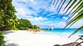 Paradiesstrand am anse Lazio auf den Seychellen 60 Lizenzfreie Stockfotos