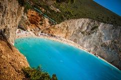 Paradiestürkiswasser Lizenzfreies Stockfoto