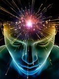 Paradigm av medvetenheten stock illustrationer