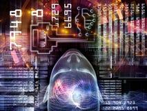Paradigm of Encryption Stock Image