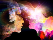 Paradigm of Inner Colors Royalty Free Stock Image
