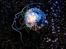 Paradigm of Machine Consciousness Stock Images
