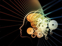 Paradigm of the Mind Royalty Free Stock Photography