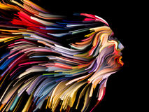 Paradigm of Mind Painting Stock Images