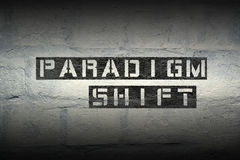 Paradigm shift gr Royalty Free Stock Images