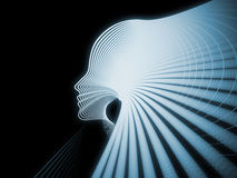 Paradigm of Soul Geometry Royalty Free Stock Images