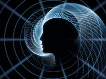 Paradigm of Soul Geometry Stock Images