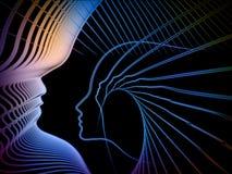 Paradigma da geometria da alma Fotografia de Stock Royalty Free
