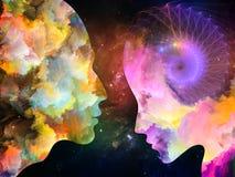 Paradigma de cores internas ilustração stock
