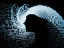 Paradigma de la geometría del alma Imagen de archivo libre de regalías