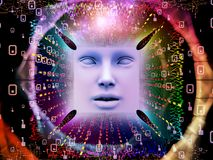 Paradigma del ser humano estupendo AI Imagen de archivo