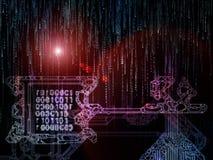 Paradigma des Schlüsselcodes Lizenzfreies Stockfoto