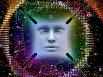 Paradigma des Supermenschen AI Stockbilder