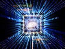 Paradigma do computador Imagem de Stock