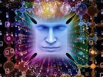 Paradigma do ser humano super AI Fotografia de Stock Royalty Free