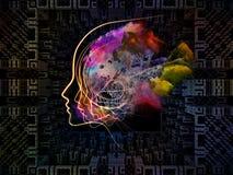 Paradigma van Gedachte Patronen stock illustratie