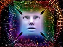 Paradigma van Super Menselijke AI Stock Afbeeldingen