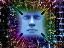 Paradigma van Super Menselijke AI Stock Foto's