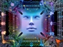 Paradigma van Super Menselijke AI Stock Fotografie