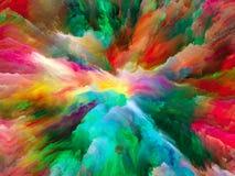 Paradigma van Surreal Verf vector illustratie