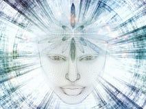 Paradigme de l'esprit Image stock