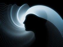 Paradigme de la géométrie d'âme Image libre de droits