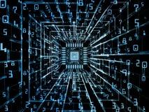 Paradigme de processeur de Digital Image stock