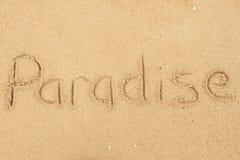 Paradijs Royalty-vrije Stock Afbeelding