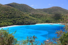 Paradijs in de Caraïben royalty-vrije stock fotografie