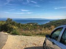 Paradijs op Adriatische overzees Royalty-vrije Stock Foto