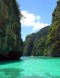 Paradijs in Phi Phi Stock Foto