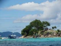 Paradijs tropisch eiland, Coron, Filippijnen stock afbeeldingen