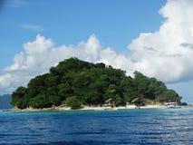 Paradijs tropisch eiland, Coron, Filippijnen stock afbeelding