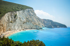 Paradijs turkooise wateren Stock Foto