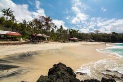 Paradis à la plage de Bali, Indonésie Images stock