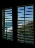 paradis 01 till fönstret Royaltyfri Bild