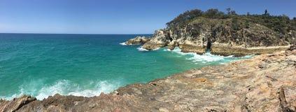 Paradis australien de plage photo stock
