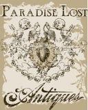 Paradis détruit illustration de vecteur