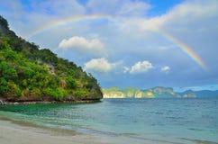 Paradis d'île Images libres de droits