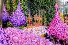 Paradis d'orchidée Photographie stock libre de droits