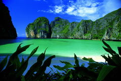 Paradis dans le phi de phi Photo stock