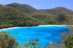 Paradis dans les Caraïbe photographie stock libre de droits