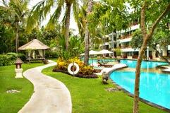 Paradis de Balinese Image libre de droits